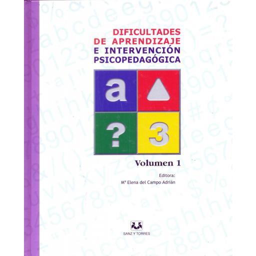 DIFICULTADES DE APRENDIZAJE E INTERVENCIÓN PSICOPEDAGÓGICA. Lote completo. Del Campo, ME. [1]
