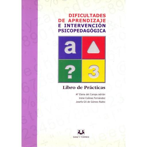 DIFICULTADES DE APRENDIZAJE E INTERVENCIÓN PSICOPEDAGÓGICA. Lote completo. Del Campo, ME. [3]
