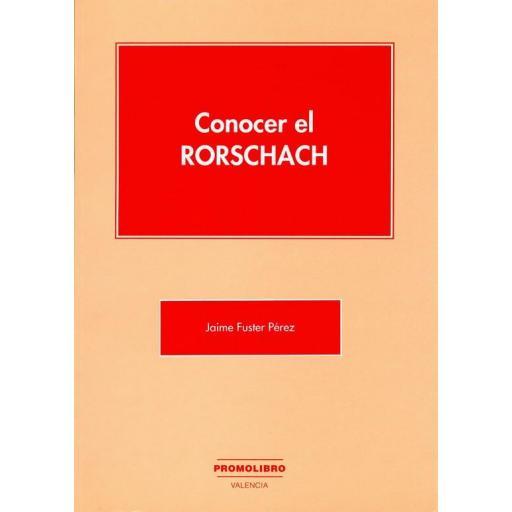 CONOCER EL RORSCHACH