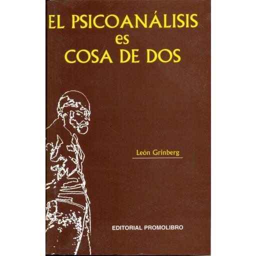 EL PSICOANÁLISIS ES COSA DE DOS