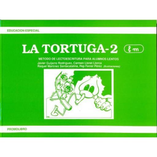LA TORTUGA-2 (l, m). Método de lectoescritura para alumnos lentos.