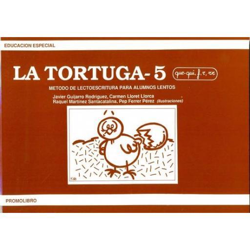 LA TORTUGA-5 (que-qui, f,r,rr). Método de lectoescritura para alumnos lentos. [0]