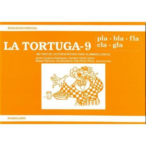 LA TORTUGA-9 (pla,bla,fla,cla,gla)