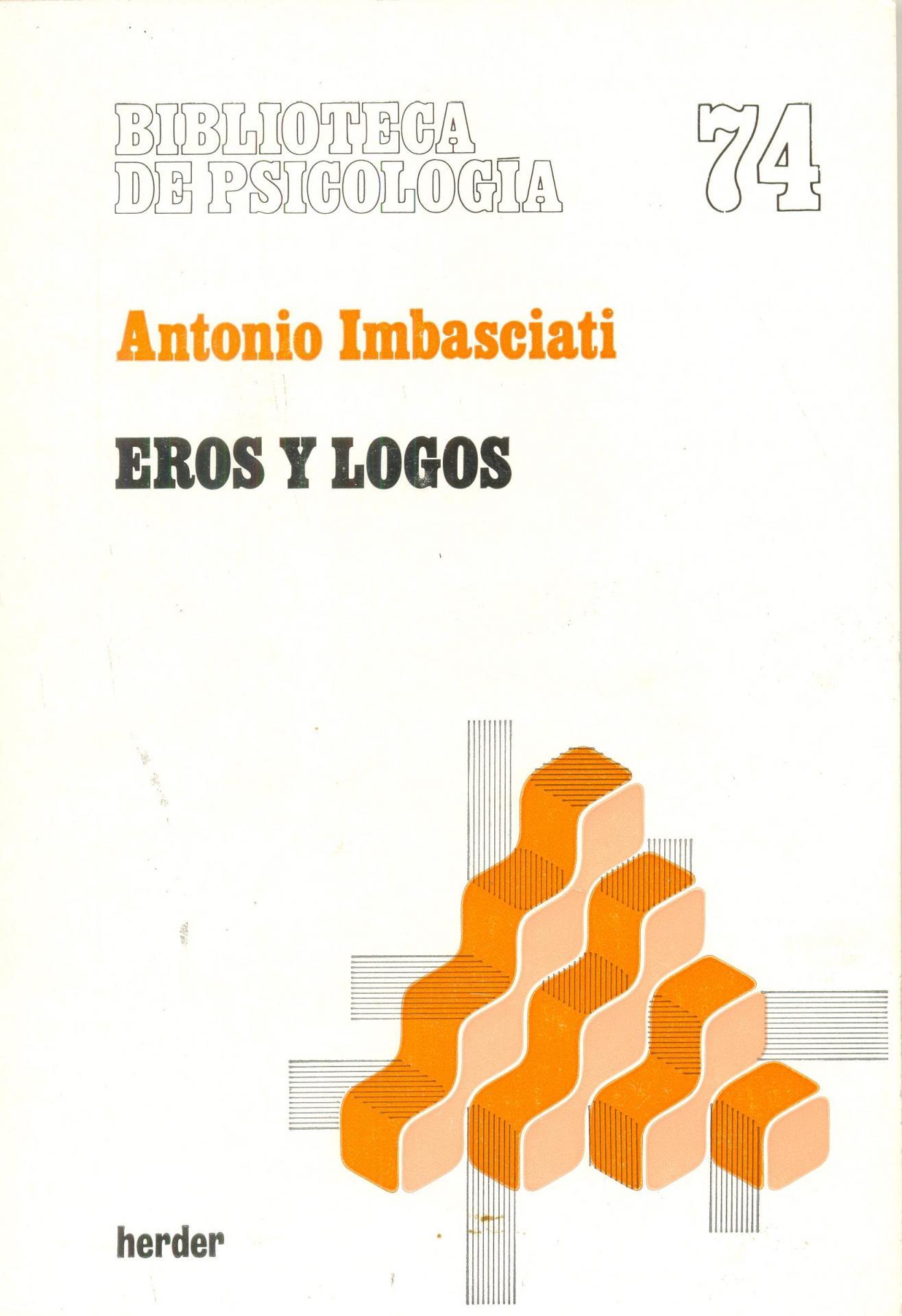 EROS Y LOGOS. Imbasciati, A.