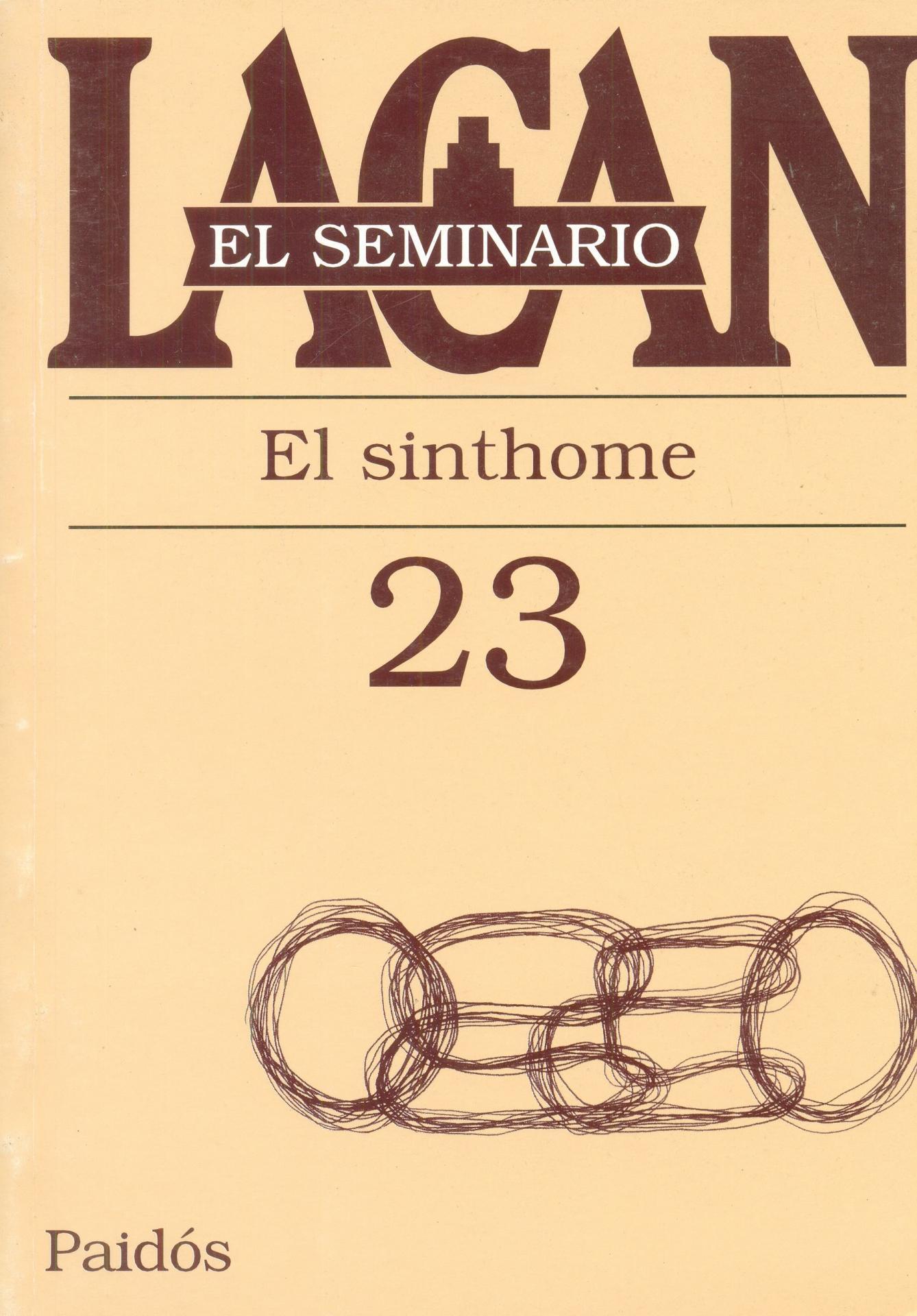 EL SINTHONE. SEMINARIO Nº 23
