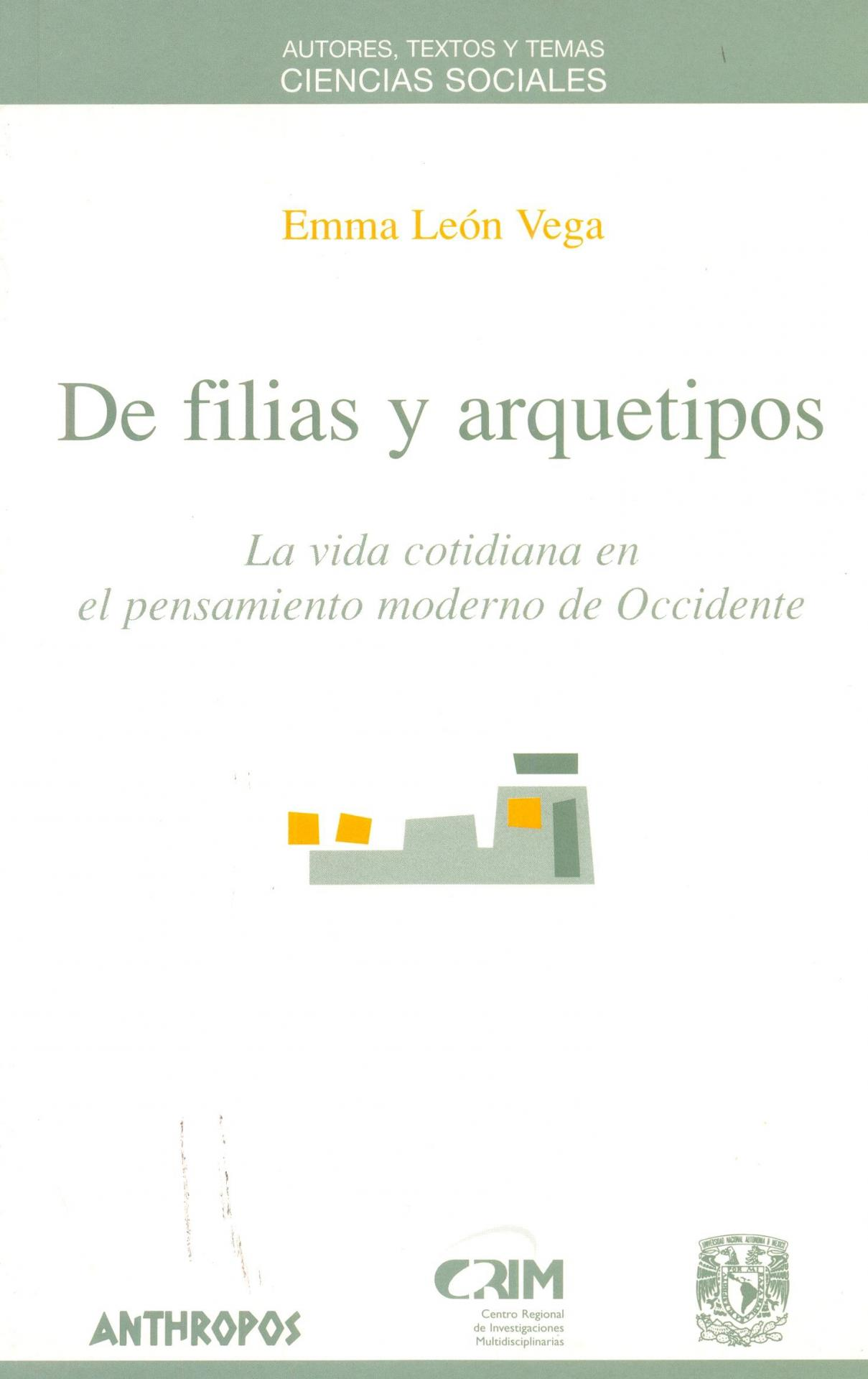 DE FILIAS Y ARQUETIPOS. León Vega, E.
