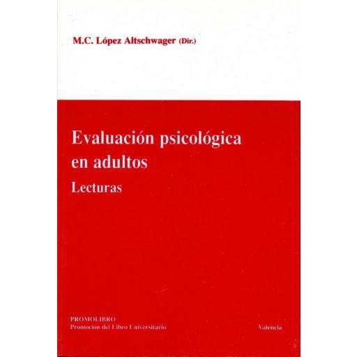 EVALUACIÓN PSICOLÓGICA EN ADULTOS. LECTURAS