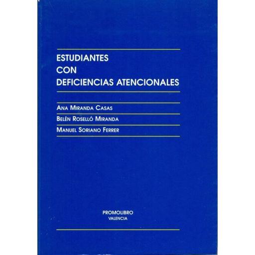 ESTUDIANTES CON DEFICIENCIAS ATENCIONALES