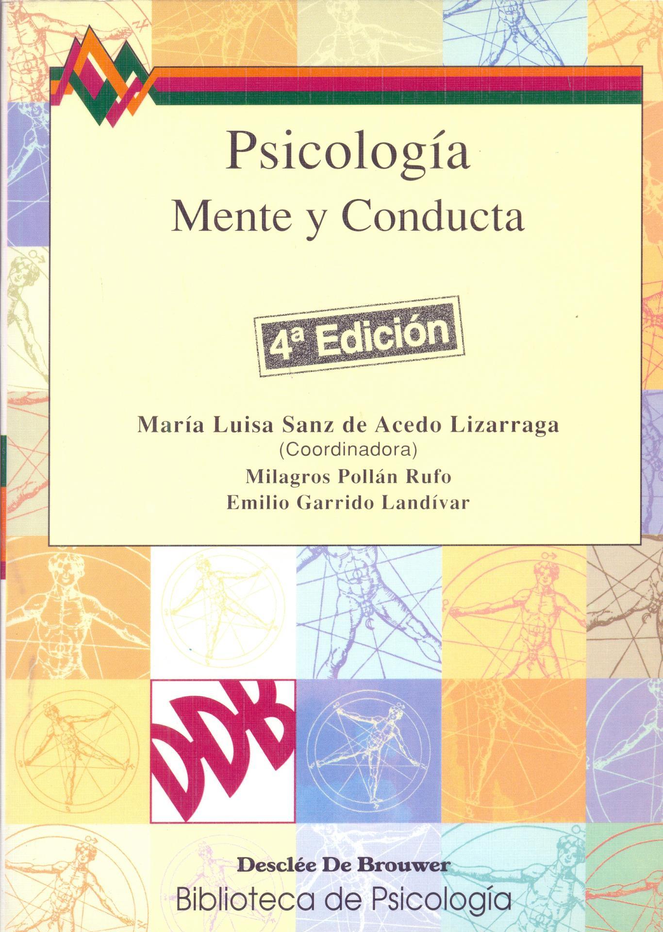PSICOLOGÍA. Mente y conducta. Sanz de Acedo, ML