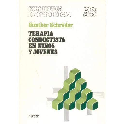 TERAPIA CONDUCTISTA EN NIÑOS JÓVENES. Schröder, G. [0]