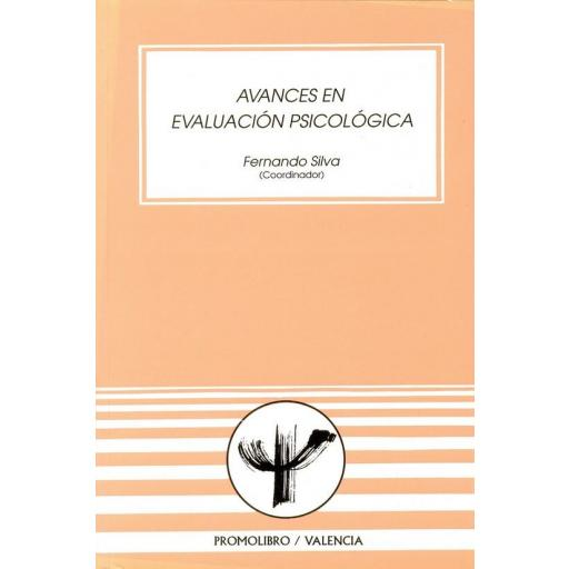 AVANCES EN EVALUACIÓN PSICOLÓGICA