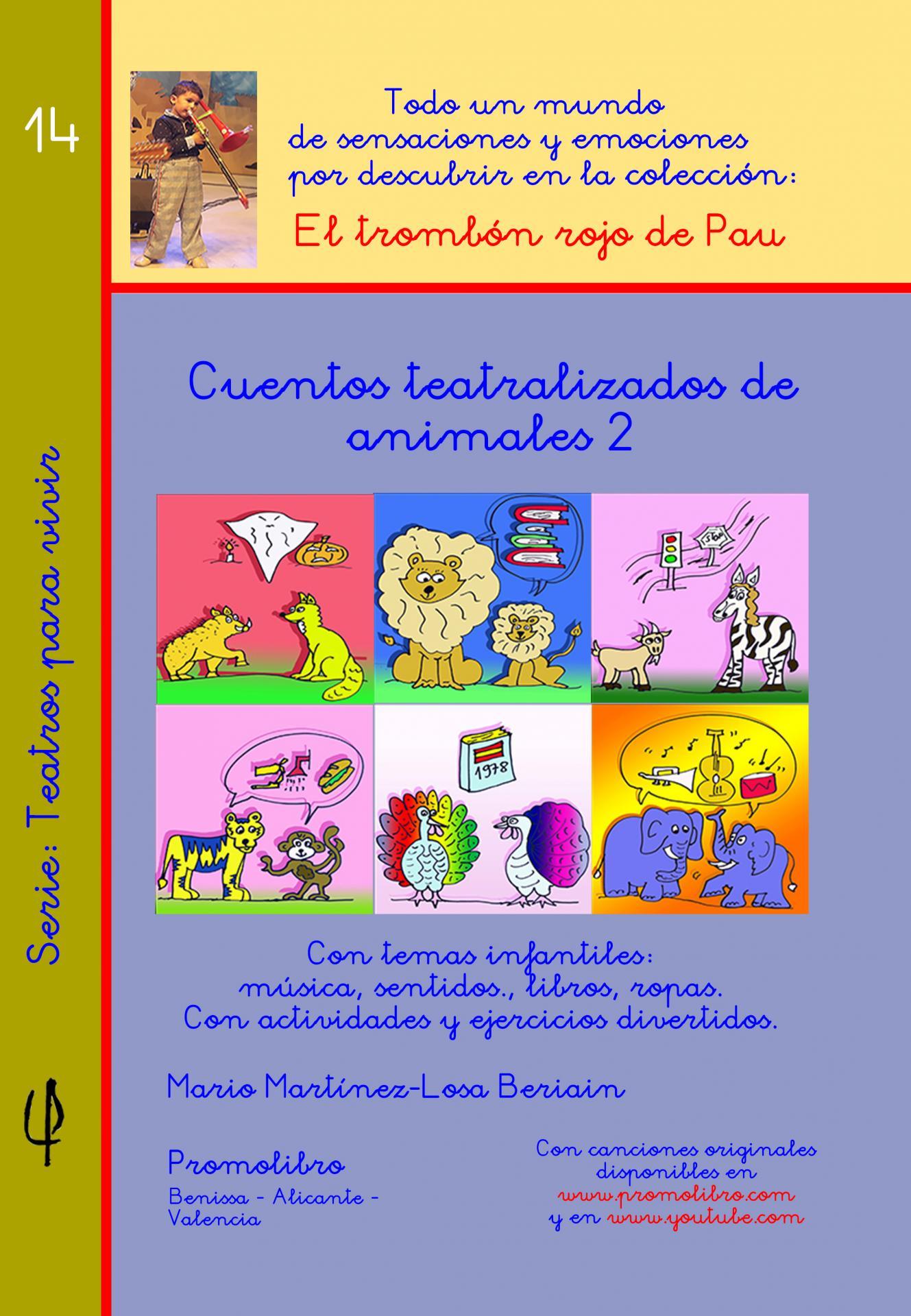 CUENTOS TEATRALIZADOS DE ANIMALES 2