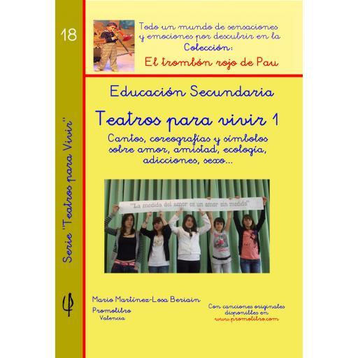 TEATROS PARA VIVIR 1. ED. SECUNDARIA
