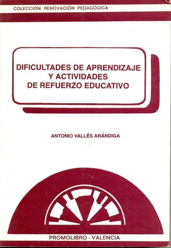 DIFICULTADES DE APRENDIZAJE Y ACTIVIDADES DE REFUERZO EDUCATIVO