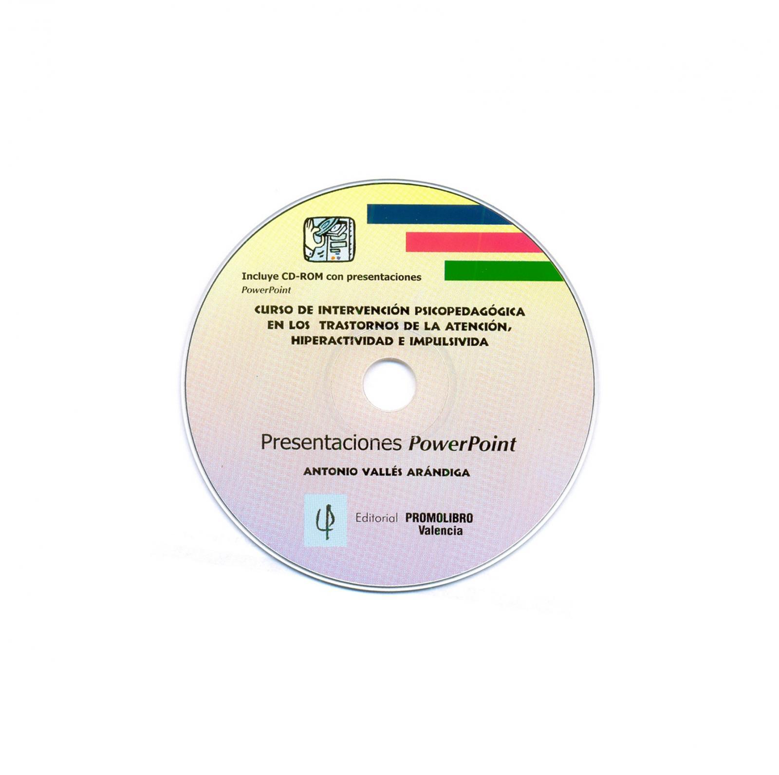 CURSO DE INTERVENCIÓN PSICOPEDAGÓGICA EN LOS TRASTORNOS DE LA ATENCIÓN, HIPERACTIVIDAD E IMPULSIVIDAD.  ESTE MATERIAL ESTÁ REPRODUCIDO Y A LA VENTA SOLAMENTE EN CD ROM