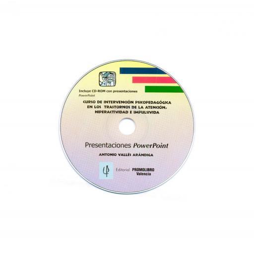 CURSO DE INTERVENCIÓN PSICOPEDAGÓGICA EN LOS TRASTORNOS DE LA ATENCIÓN, HIPERACTIVIDAD E IMPULSIVIDAD.  ESTE MATERIAL ESTÁ REPRODUCIDO Y A LA VENTA SOLAMENTE EN CD ROM [0]