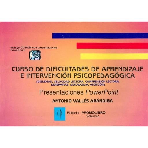 CURSO DE DIFICULTADES DE APRENDIZAJE. [0]