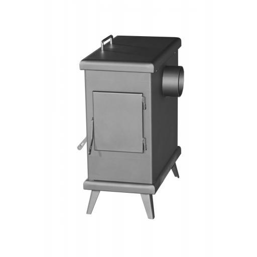 Estufa de leña modelo C3 Horno Plus [2]