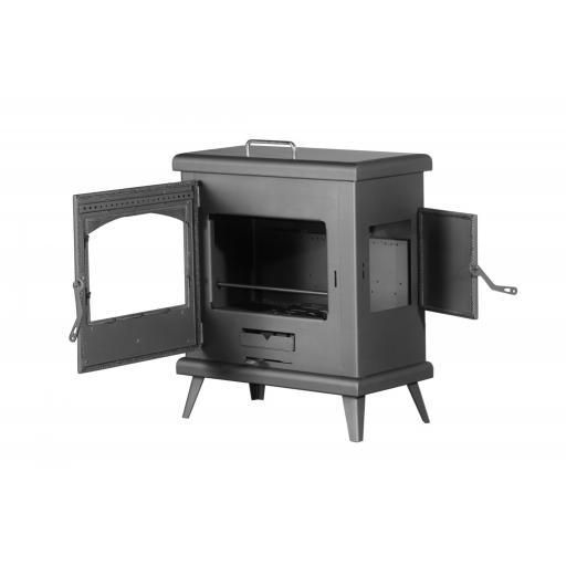 Estufa de leña modelo C3 Horno Plus [1]