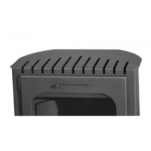 Estufa Hibrida de Leña y Pellets modelo FuJi Eco Plus [3]