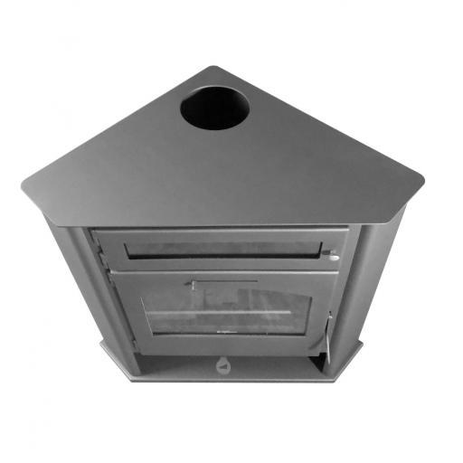 Estufa de leña de Rincón modelo R2 Horno Plus [3]
