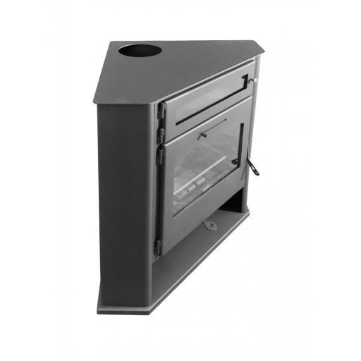 Estufa de leña de Rincón modelo R2 Horno Plus [1]