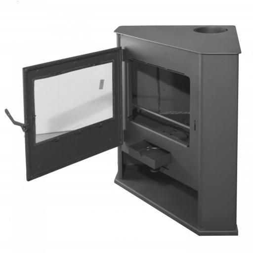 Estufa de leña de Rincón modelo R6 [2]
