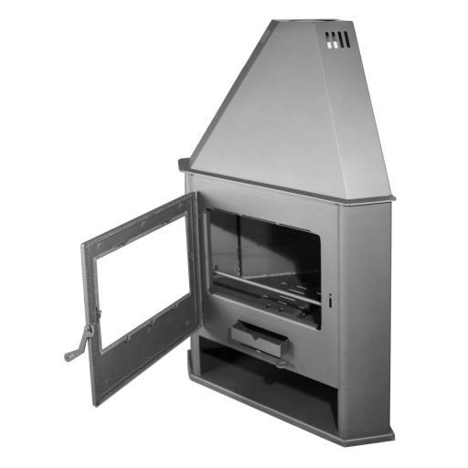 Estufa de leña de Rincón modelo R7 [1]