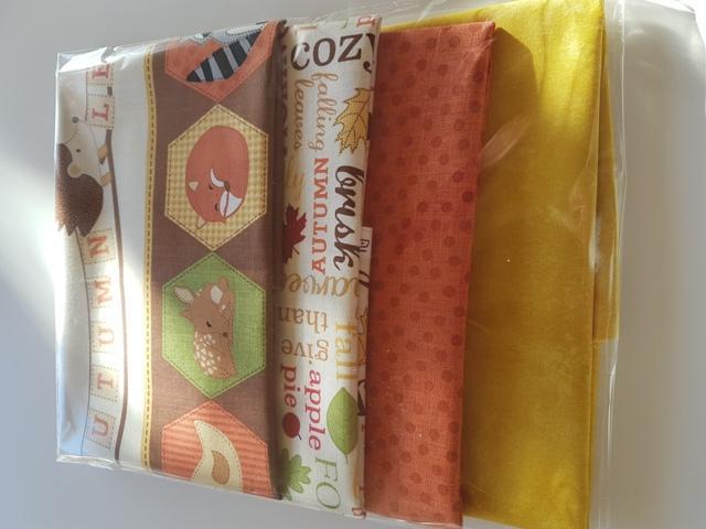 Pack 4 telas combinadas
