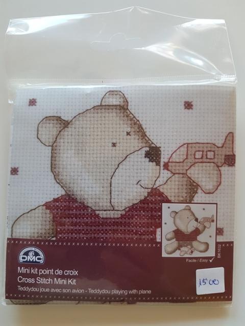 Kit oso con avión