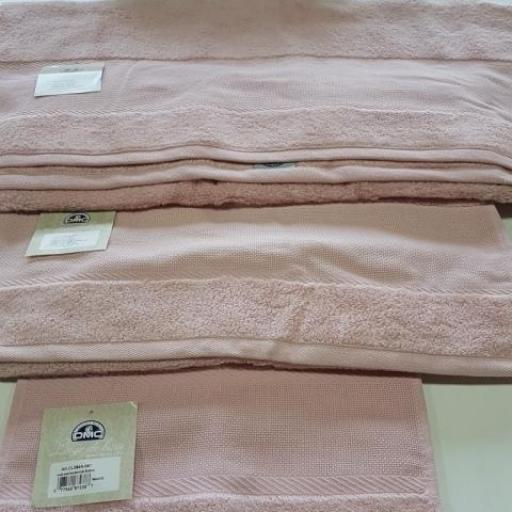Toalla para bordar DMC lavabo Rosa [0]