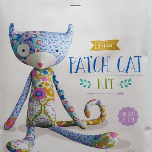 KIT TILDA PATCH CAT