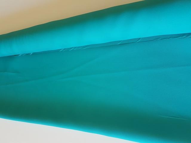 Tela Mikado liso color turquesa