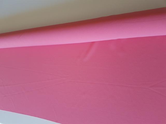 Tela neopreno poliester liso color rosa coral
