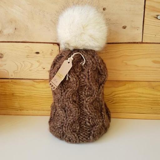 Gorro de lana Marrón [1]