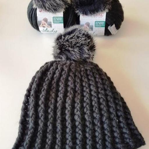 Gorro de lana Negro [1]