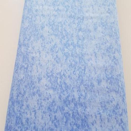 Tela marmoleada Azul