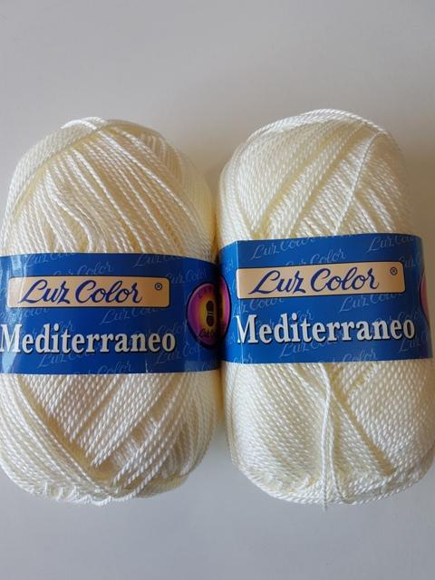 Perlé grueso Mediterraneo 322 Marfil