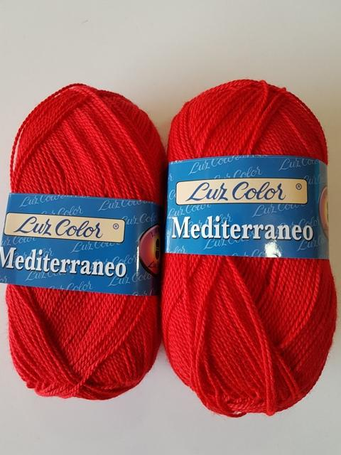 Perlé grueso Mediterraneo 311 Rojo