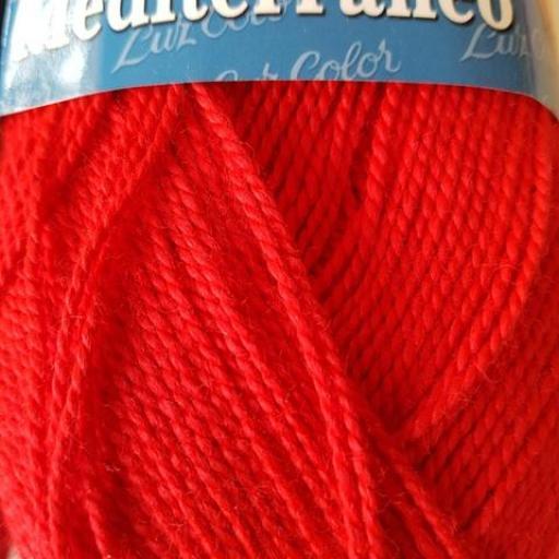 Perlé grueso Mediterraneo 311 Rojo [1]