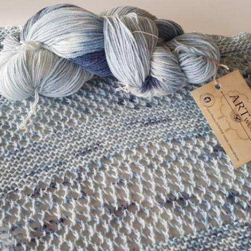 Taller Chal de punto Art Wool [3]