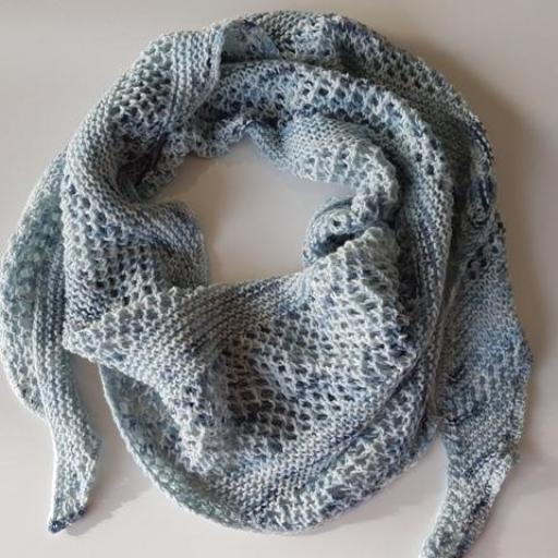 Taller Chal de punto Art Wool