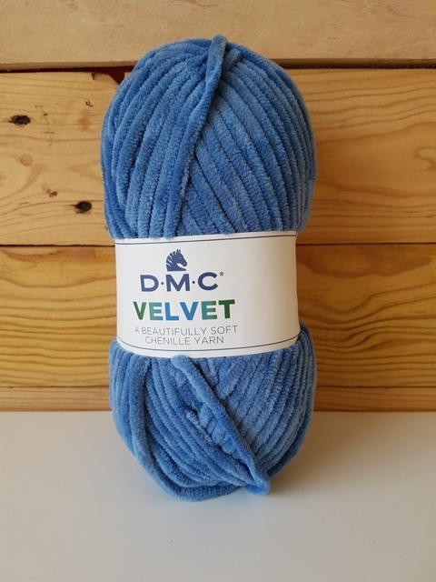 DMC VELVET CHENILLE Azul 008