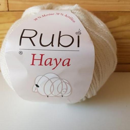 RUBI HAYA merino Marfil 001