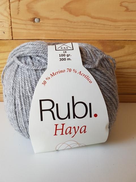 RUBI HAYA merino GRIS 009