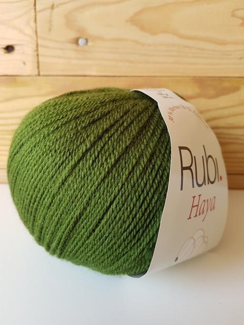 RUBI HAYA merino Verde 008