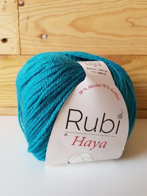 RUBI HAYA merino Azul 012