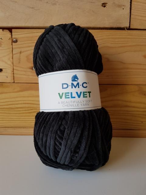 DMC VELVET CHENILLE Negro 010