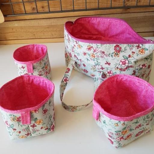 Bolsa de labores con cestas multiuso [1]