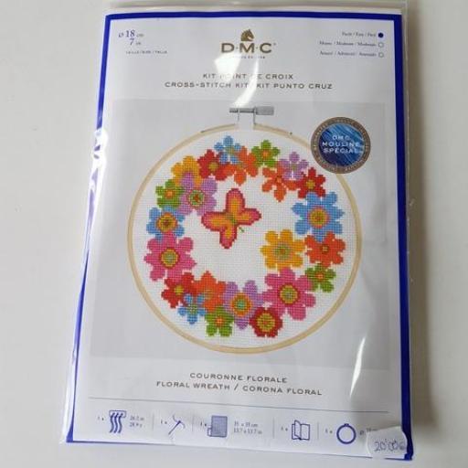 Kit corona floral
